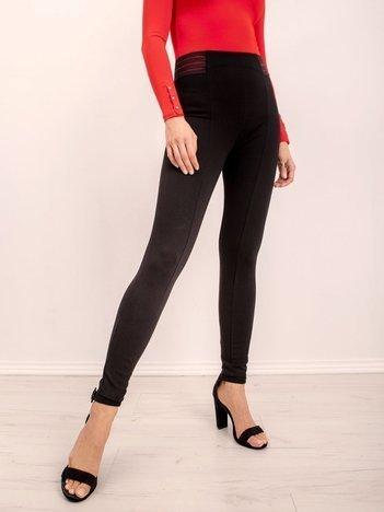 Czarne legginsy BSL