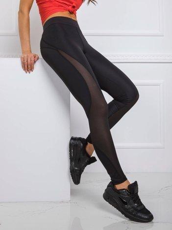 Czarne legginsy Marion FOR FITNESS