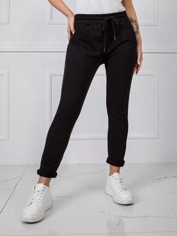 Czarne spodnie Active