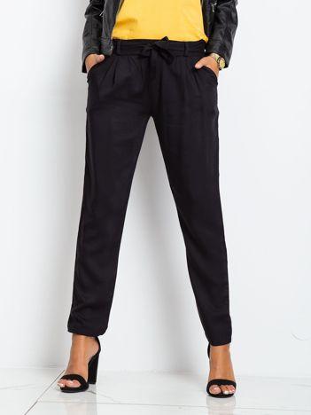 Czarne spodnie Carbon