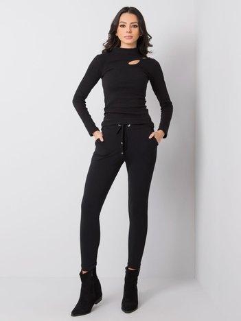 Czarne spodnie Debora