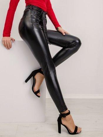 Czarne spodnie Ray