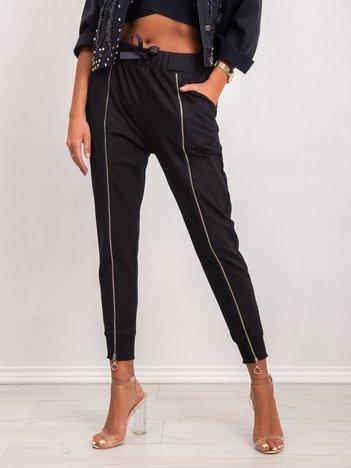 Czarne spodnie Treasure