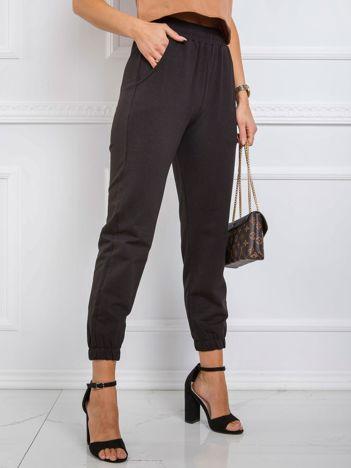 Czarne spodnie Wildery RUE PARIS