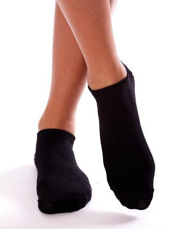 Czarne stopki damskie