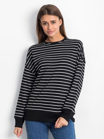 Czarno-biała bluza Continuously