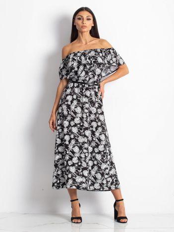 Czarno-biała sukienka Sandbeach
