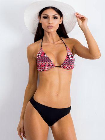 Czarno-koralowe bikini Catalinas