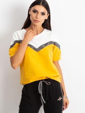 Czarno-żółty komplet Trajectory