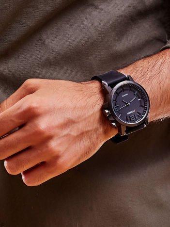 Czarny Sportowy Zegarek Męski