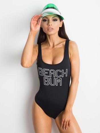 Czarny kostium kąpielowy Reload