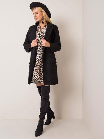 Czarny płaszcz Fibee OCH BELLA