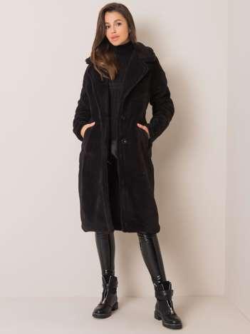Czarny płaszcz Sheley