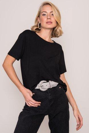Czarny t-shirt BSL