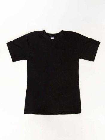Czarny t-shirt męski Neil