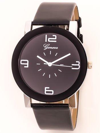 Czarny zegarek damski na pasku