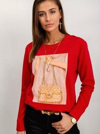 Czerwona bluza Adelaide