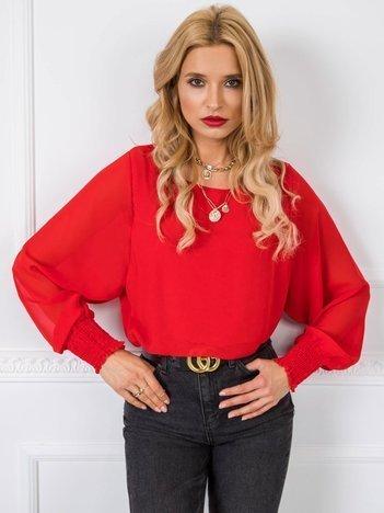Czerwona bluzka Laylla RUE PARIS