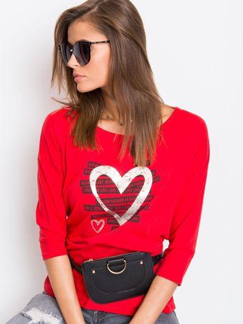 Czerwona bluzka Natural