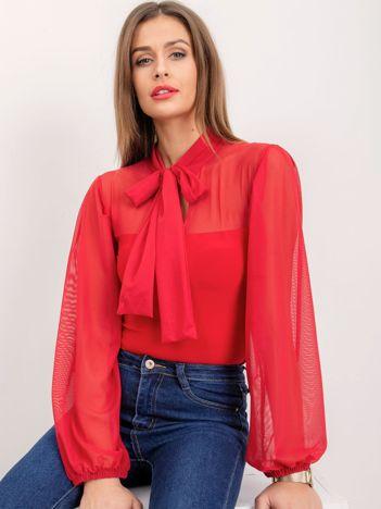 Czerwona bluzka Rubbie
