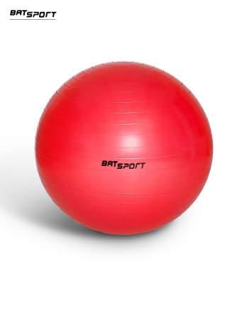 Czerwona duża piłka fitness