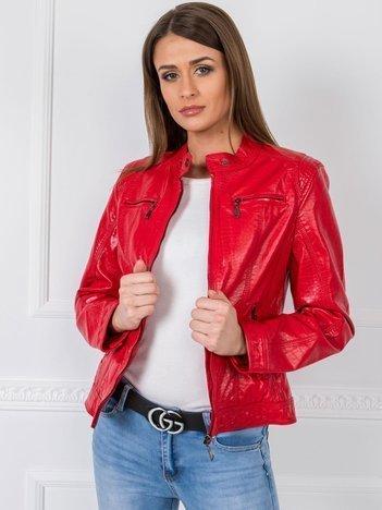 Czerwona kurtka Jessy