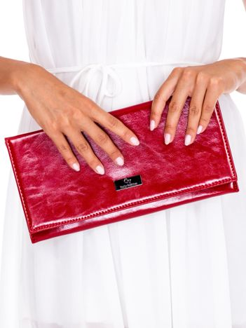 Czerwona prostokątna kopertówka