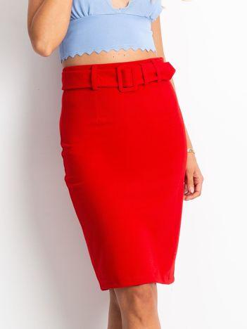 Czerwona spódnica Verne