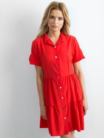Czerwona sukienka Aerial