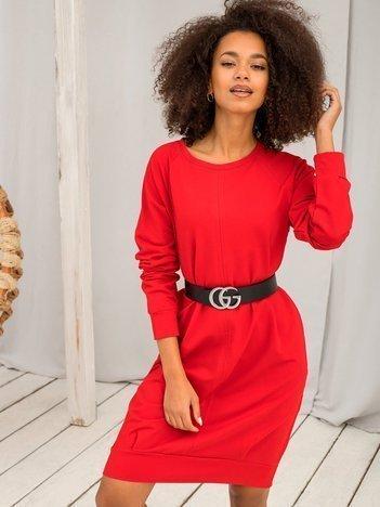 Czerwona sukienka Cristine