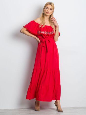 Czerwona sukienka Margaritas