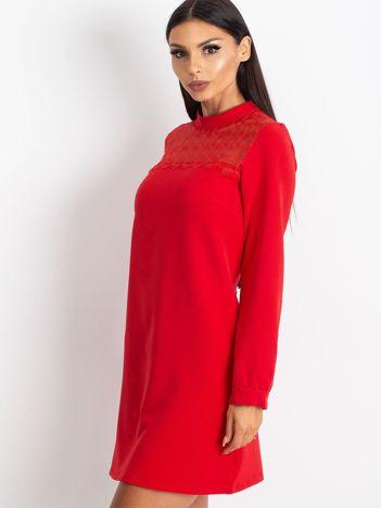 Czerwona sukienka Molly