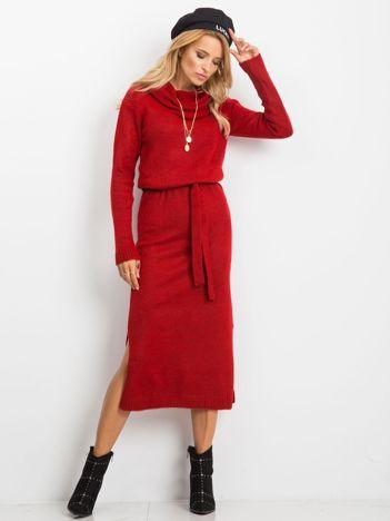 Czerwona sukienka Peace