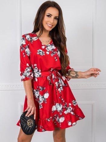 Czerwona sukienka Polly