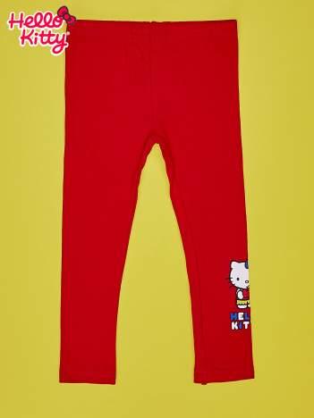 Czerwone legginsy dla dziewczynki HELLO KITTY