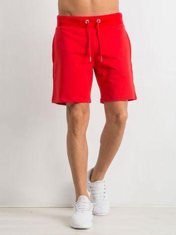 Czerwone spodenki męskie Deluxe
