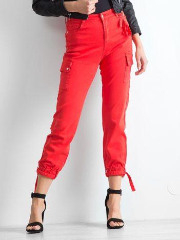 Czerwone spodnie Vintage