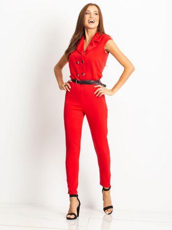 Czerwony kombinezon Lady