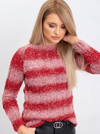 Czerwony sweter Betty