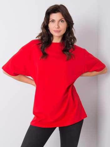 Czerwony t-shirt Juliet RUE PARIS