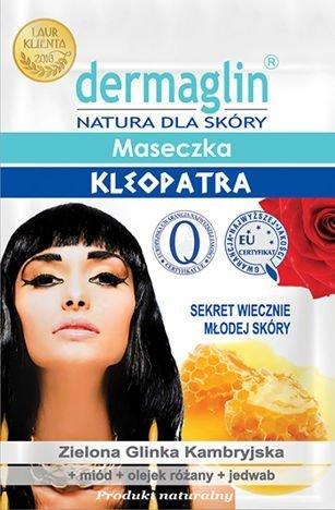 DERMAGLIN Naturalna Maseczka Kleopatra (sekret wiecznie młodej skóry) 20 g