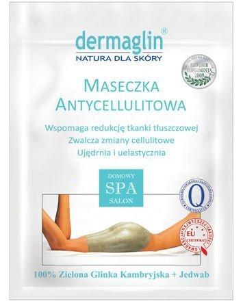 DERMAGLIN Naturalna maseczka na ciało antycellulitowa 100 g