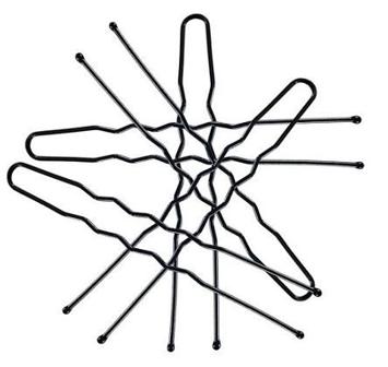 "DONEGAL WSUWKA KOKÓWKA czarna 5cm (5094)  1op.-50szt"""
