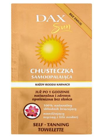 Dax Sun Chusteczka samoopalająca do każdego rodzaju karnacji 1 szt.