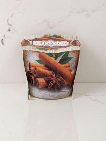 Dekoracyjna świeca zapachowa Cynamon