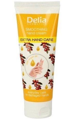 Delia Cosmetics Extra Hand Care Krem do rąk argan oil wygładzający 75 ml