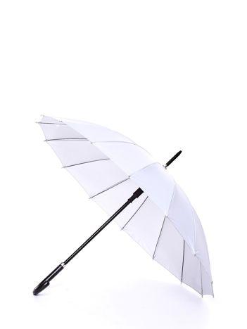 Długi szary parasol