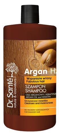 Dr.Sante Argan Hair Szampon oczyszczający do włosów uszkodzonych 1000 ml