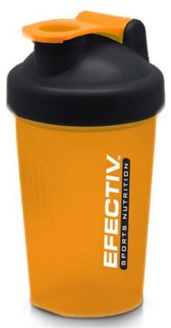 EFECTIV Shaker pomarańczowy ze zintegrowanym zamknięciem