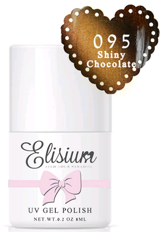 ELISIUM CAT EYE lakier hybrydowy 095 Shiny Chocolate 8 ml